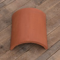 Natural Red Half Round Ridge 12 inch