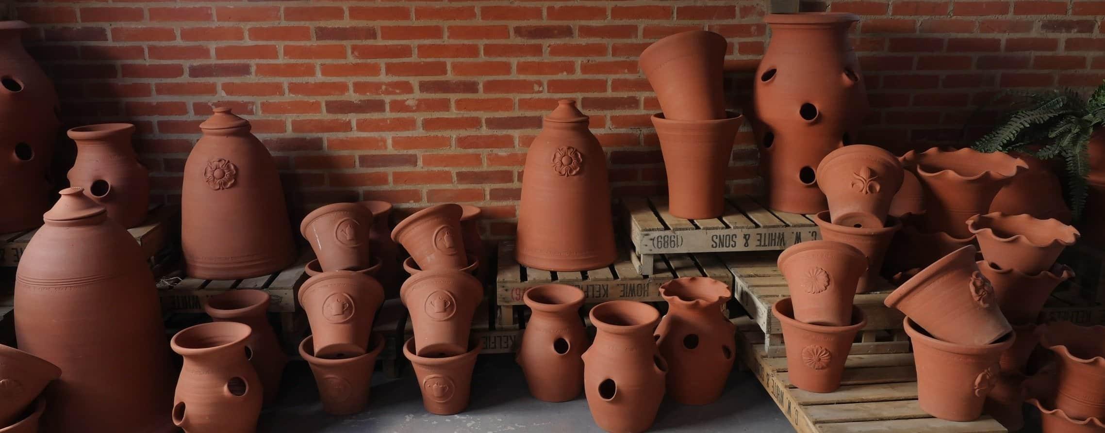 garden pottery range