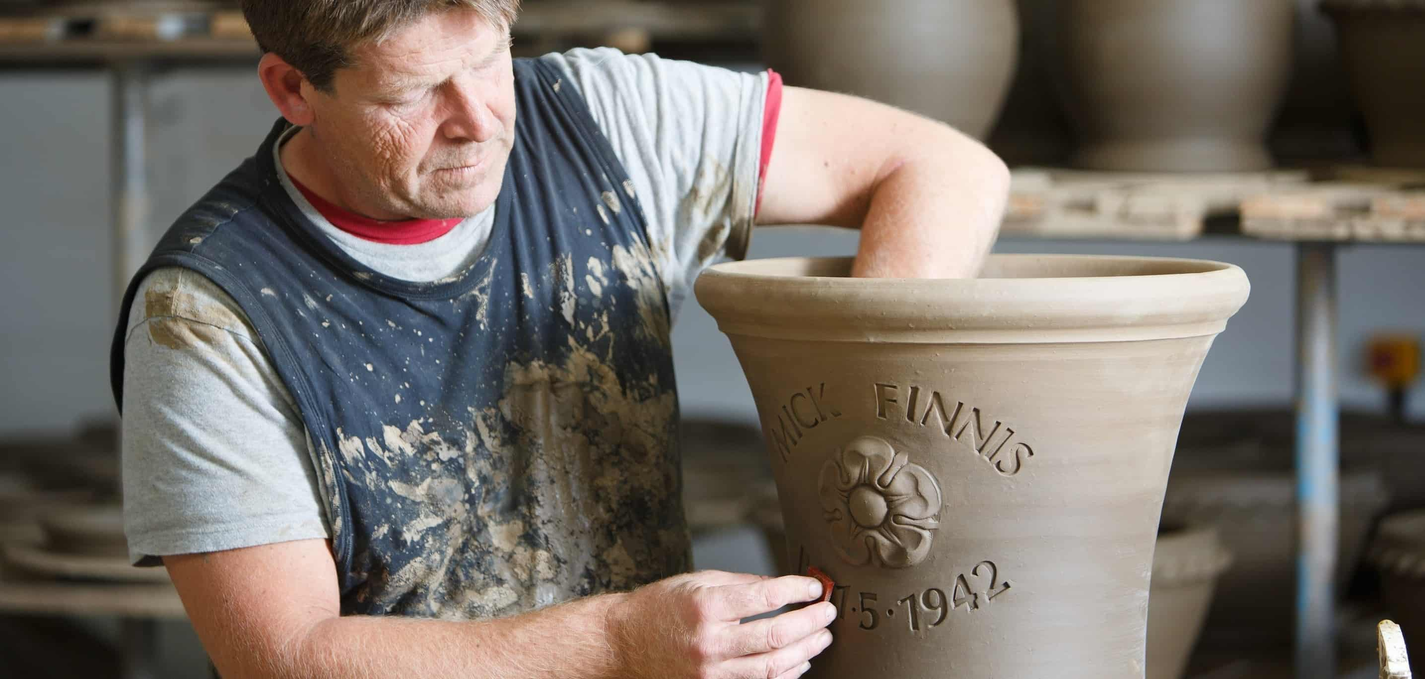 personalised pot
