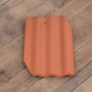 Corrugate tile